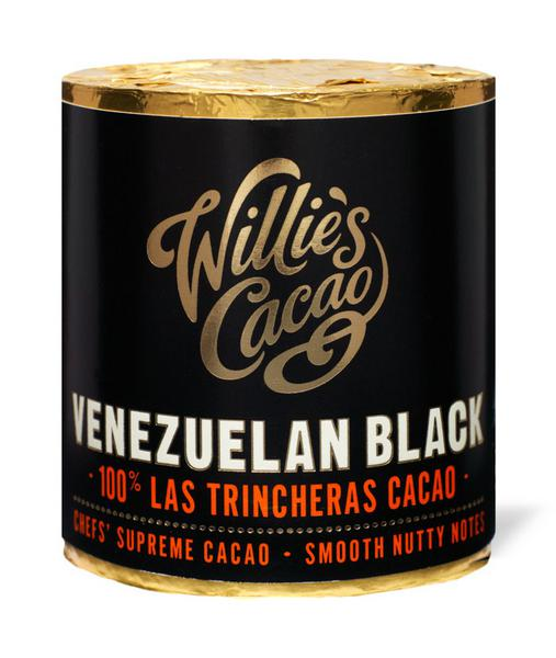 100% Cacao Venezuela Black Hacienda Las Trincheras for Cooking Vegan
