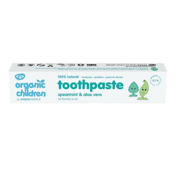 Spearmint Aloe Vera Childrens Toothpaste