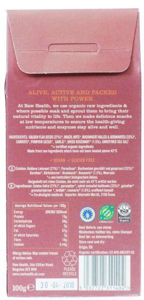 Provencale Crispbreads Gluten Free, Vegan, ORGANIC image 2