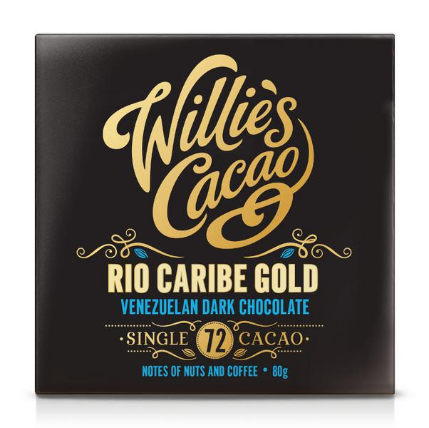 Venezuela 72% Dark Chocolate Rio Caribe Superior Vegan
