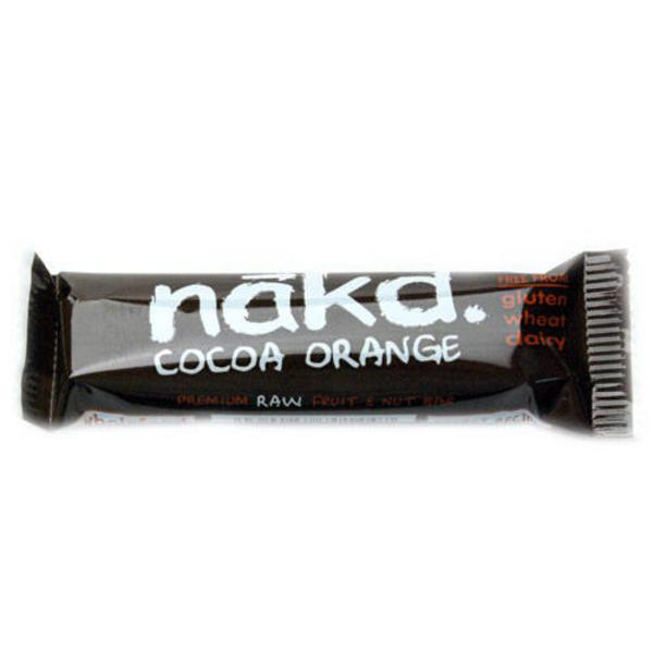 Cocoa Orange Snackbar Raw Gluten Free, Vegan