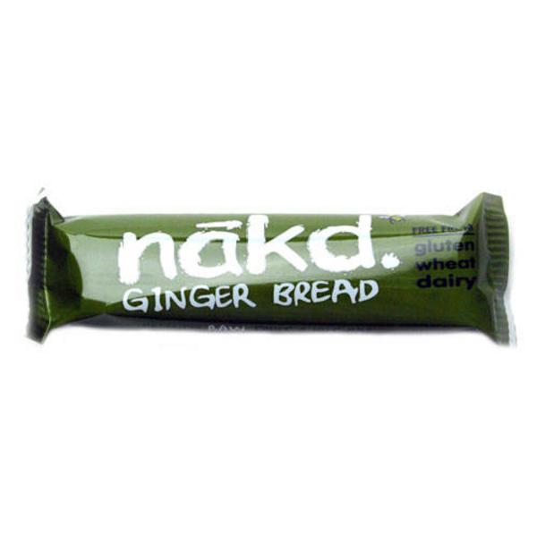 Ginger Bread Snackbar Raw Gluten Free, no added sugar, Vegan