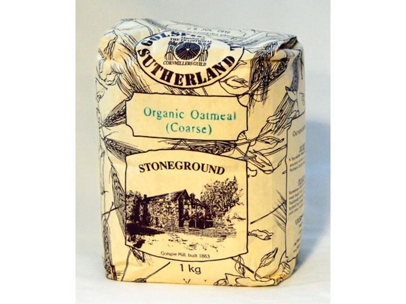 Coarse Oatmeal ORGANIC