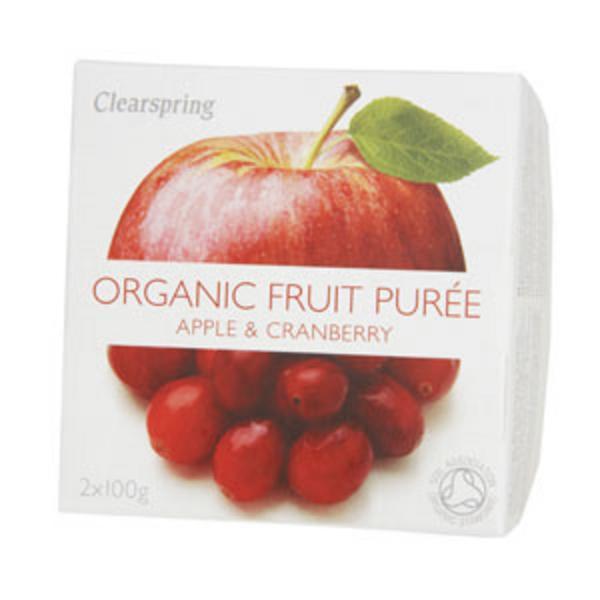 Apple & Cranberry Puree no added sugar, ORGANIC