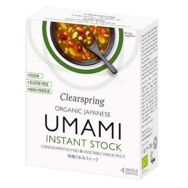 Unami Instant Stock Miso & Vegetable Paste dairy free, Vegan, ORGANIC