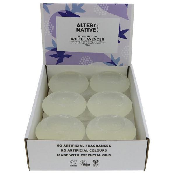White Lavender Soap Vegan
