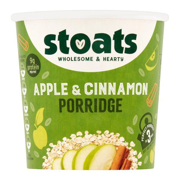 Apple,Sultana & Cinnamon Porridge Pot