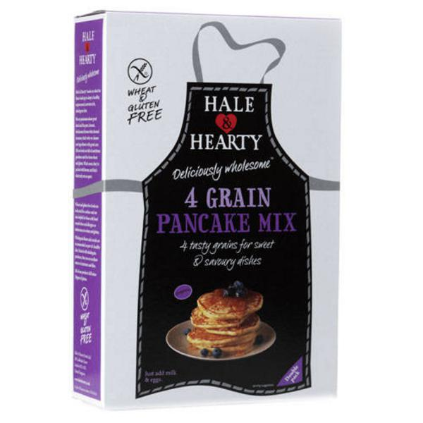Four Grain Pancake Mix (400g) Hale & Hearty gluten free, Vegan, ORGANIC