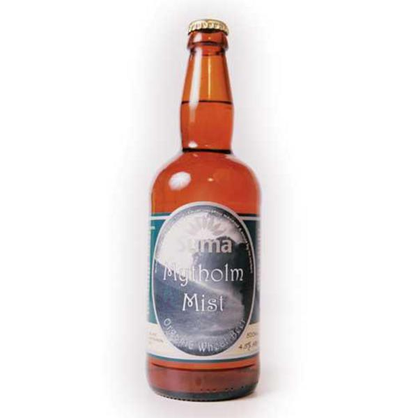 Mytholm Mist Wheat Beer Vegan, ORGANIC