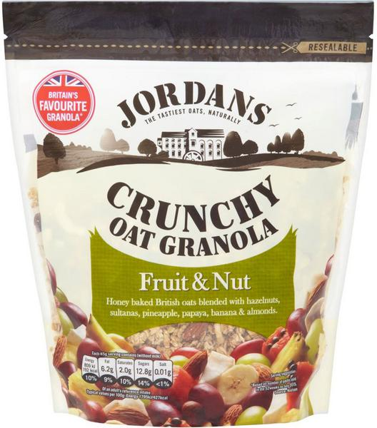 Crunchy Oats Fruit and Nut Cereal