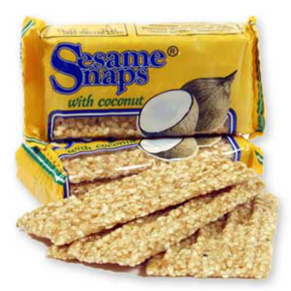 Sesame Snap with Coconut