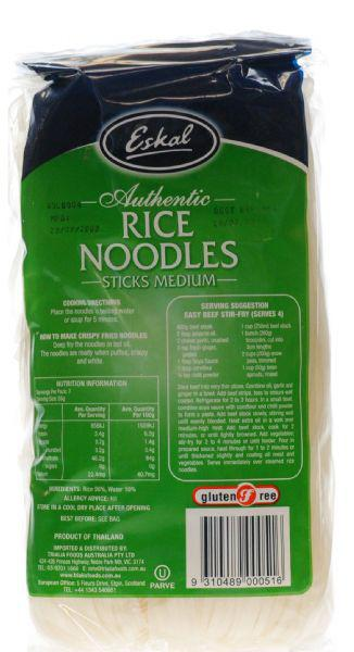 Rice Noodles Medium Gluten Free image 2