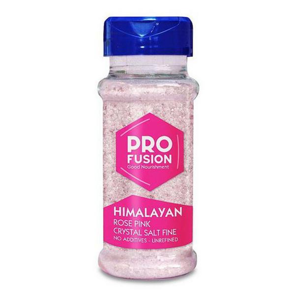 Himalaya Rose Pink Salt Fine Table Shaker ORGANIC