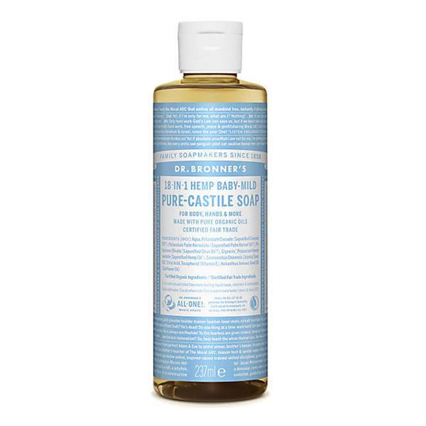 Baby-Mild Castile Liquid Soap Vegan, FairTrade, ORGANIC