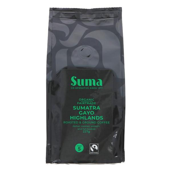 Sumatra Ground Coffee FairTrade, ORGANIC