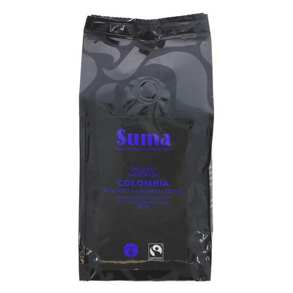 Colombia Coffee Ground FairTrade, ORGANIC