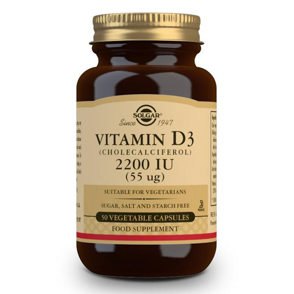 Vitamin D 3 Cholecalciferol 55ug 2200iu Gluten Free