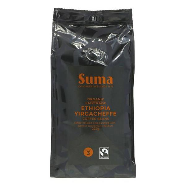 Ethiopia Yirgacheffe Coffee Beans FairTrade, ORGANIC
