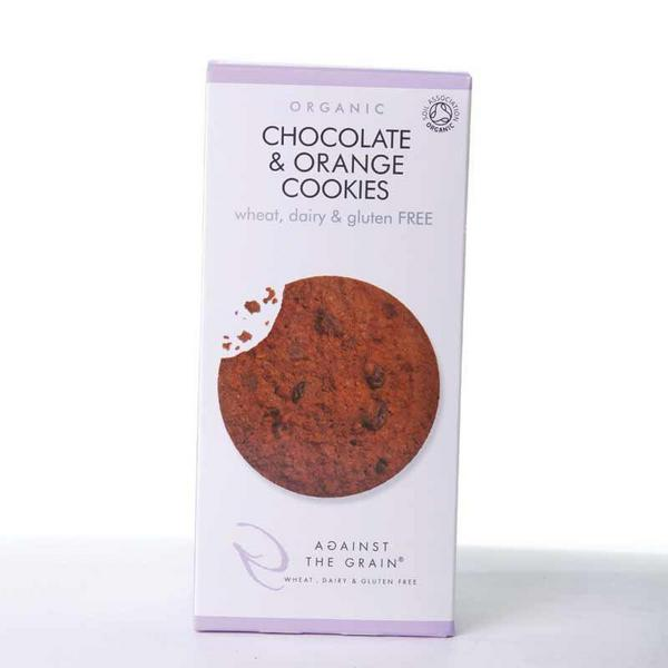 Chocolate & Orange Cookies Gluten Free, Vegan, ORGANIC
