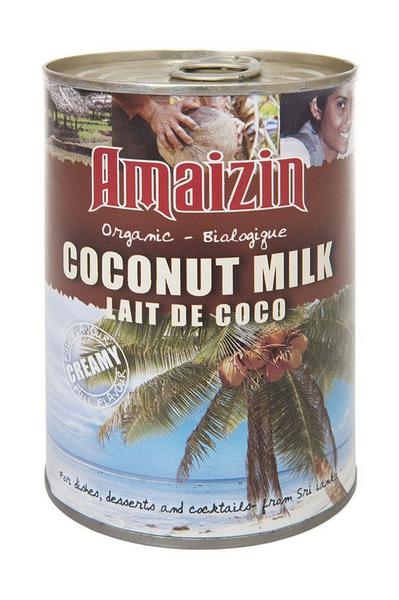 Coconut milk without guar gum