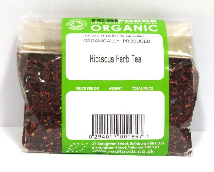 Hibiscus Herb Tea ORGANIC image 2