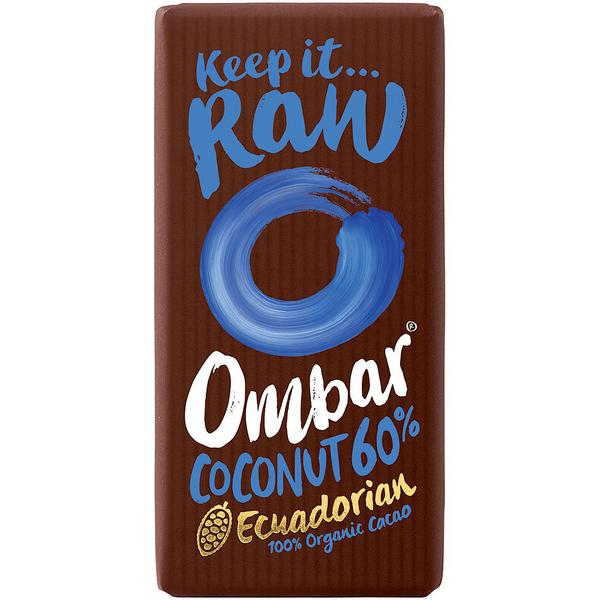 Coconut 60% Raw Chocolate Vegan, ORGANIC