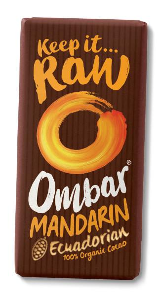 Cranberry & Mandarin Raw Chocolate ORGANIC