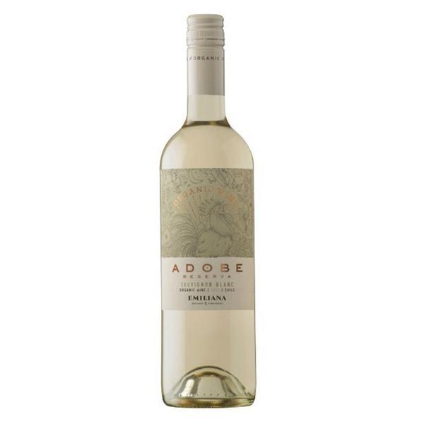 Sauvignon Blanc Emiliana White Wine Vegan, FairTrade, ORGANIC