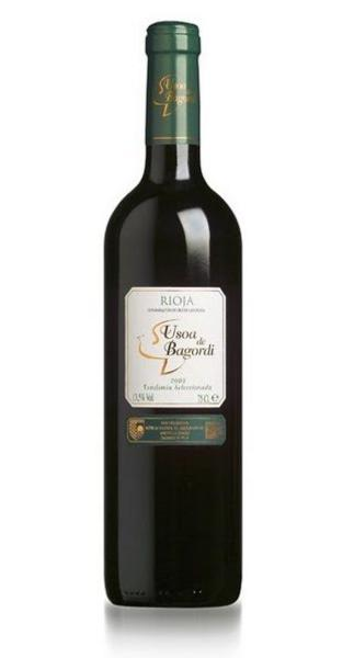 Red Wine Usoa de Bagordi Vendimia Seleccionada DO Spain 13.5% Vegan, ORGANIC