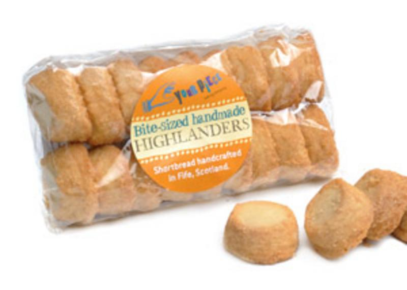 Bite-sized Highlanders Packets Shortbread