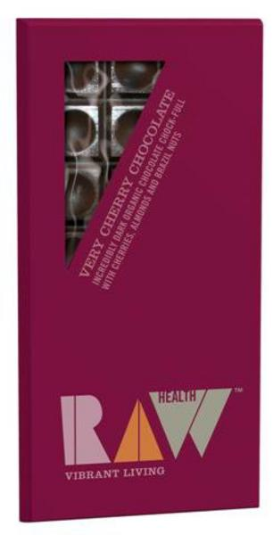 Very Cherry Dark Raw Chocolate 70% Cocoa ORGANIC