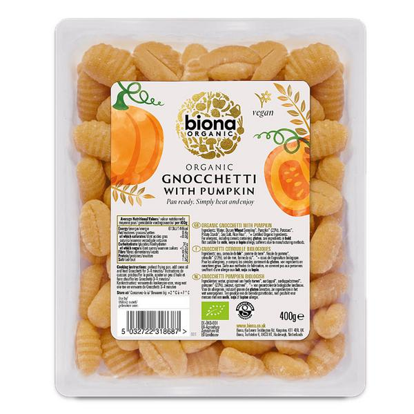 Fresh Gnocchetti with Pumpkin ORGANIC