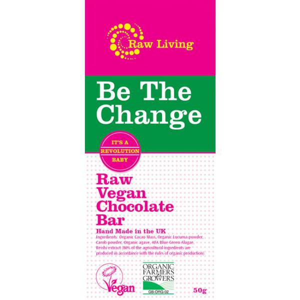 Be The Change Snackbar