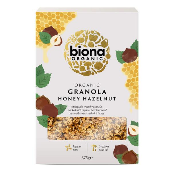 Honey & Hazelnut Granola ORGANIC