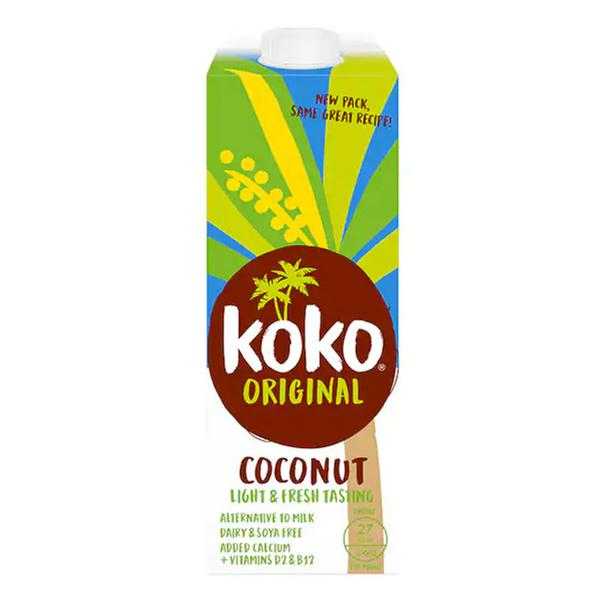Coconut Milk And Calcium Drink Dairy Free In 1l From Koko