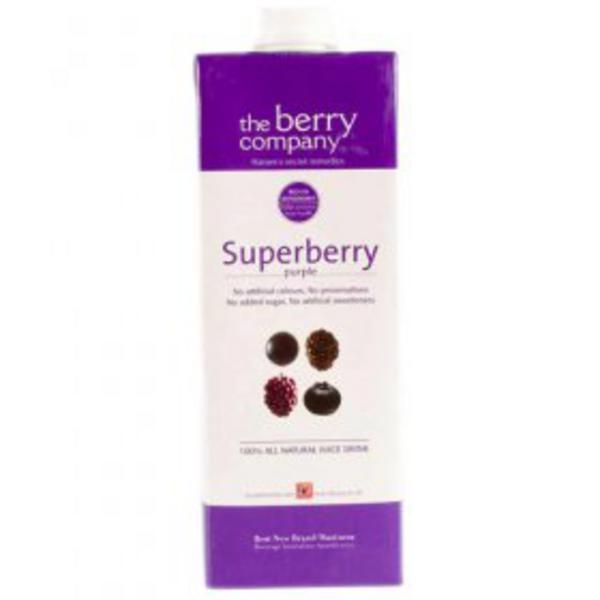 Large Ambient Purple Superberry Juice