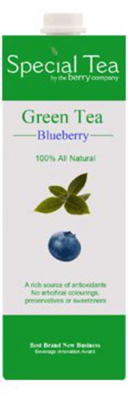 Special Juice Green Tea & Blueberry