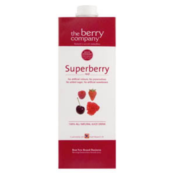 Large Ambient Red Superberry Juice