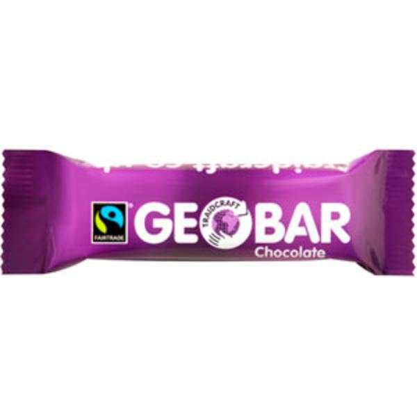 GeoBar Chocolate Cereal Bar FairTrade