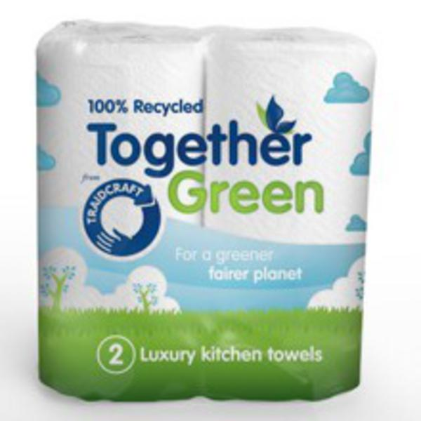 Together Green Kitchen Rolls