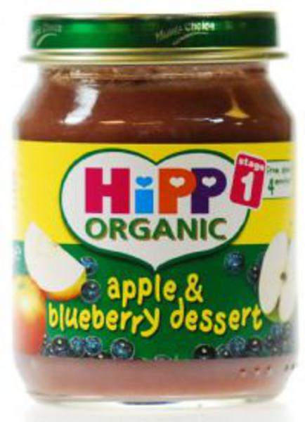 Apple & Blueberry Dessert Baby Food ORGANIC