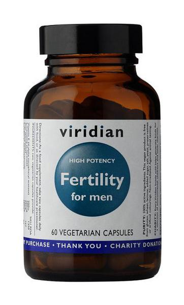 Fertility For Men Supplement Gluten Free, Vegan