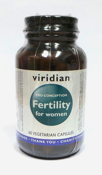 Fertility For Women Supplement Gluten Free, Vegan