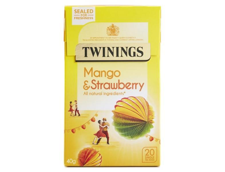 Mango & Strawberry Tea