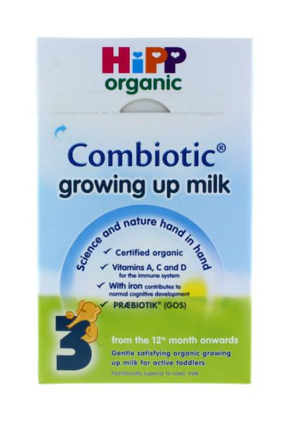 Growing Up Milk , wheat free, ORGANIC