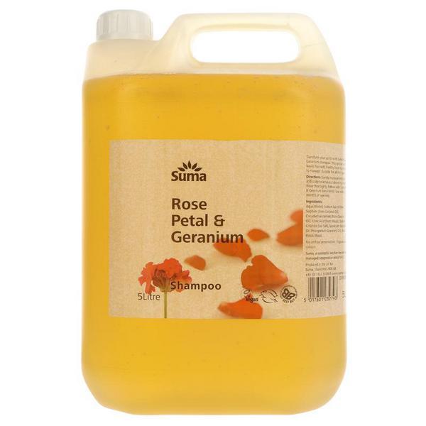 Rose & Geranium Shampoo Vegan