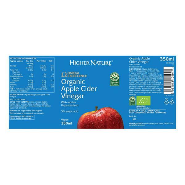 Apple Cider Vinegar unpasteurised, ORGANIC image 2