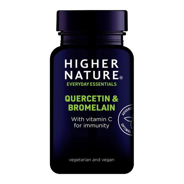 Quercetin & Bromelain Supplement Gluten Free, added sugar, Vegan