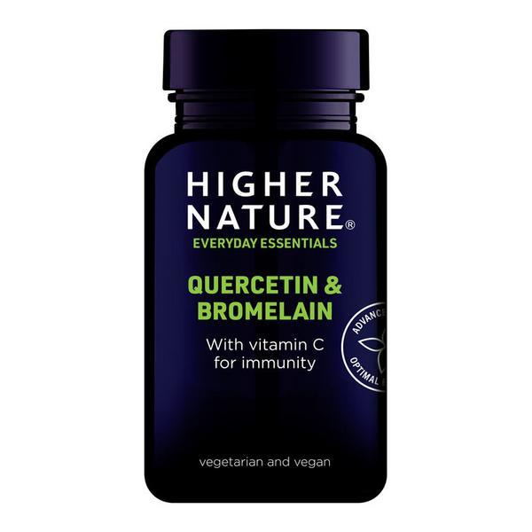 Quercetin & Bromelain Supplement Gluten Free, added sugar, Vegan