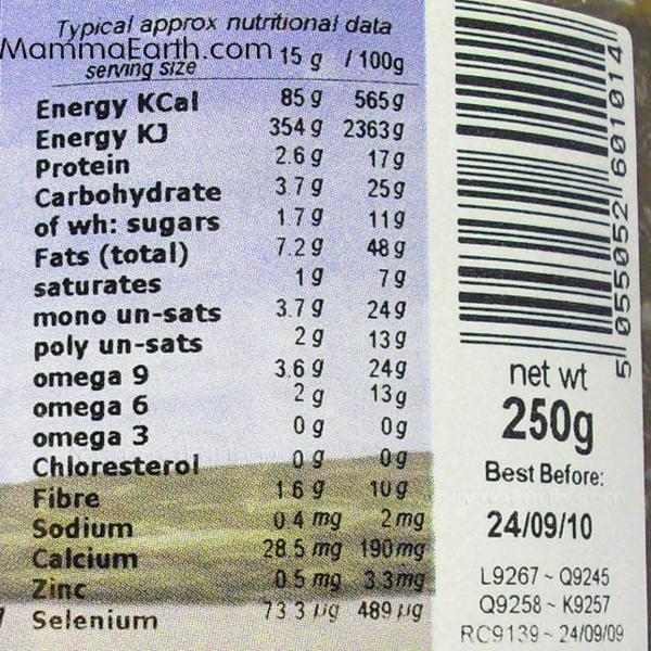 Raw Chocolate & Almond Spread no added salt, no added sugar, ORGANIC image 3